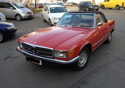 Mercedes 300SL Type 107